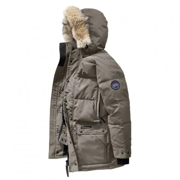 Canada Goose - Mens Emory Parka - Black Label - Coat ... 2ae6715457b3