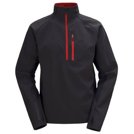The North Face - Pluto Hill Zip Mock - Softshelljacke
