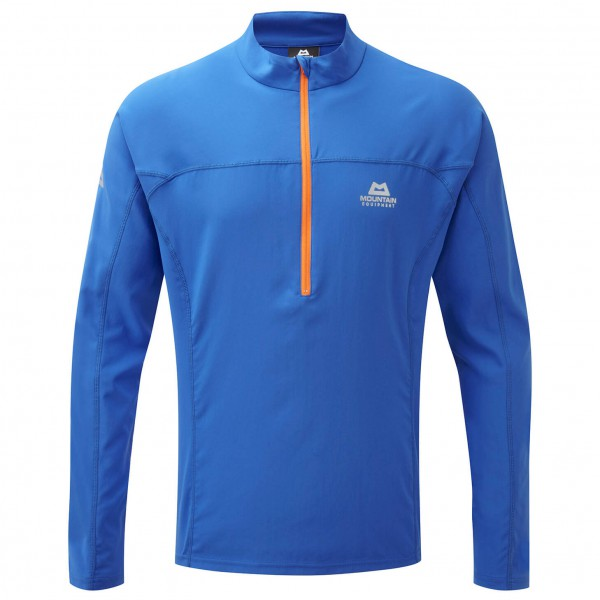 Mountain Equipment - Modus Zip Tee - Pull-over softshell
