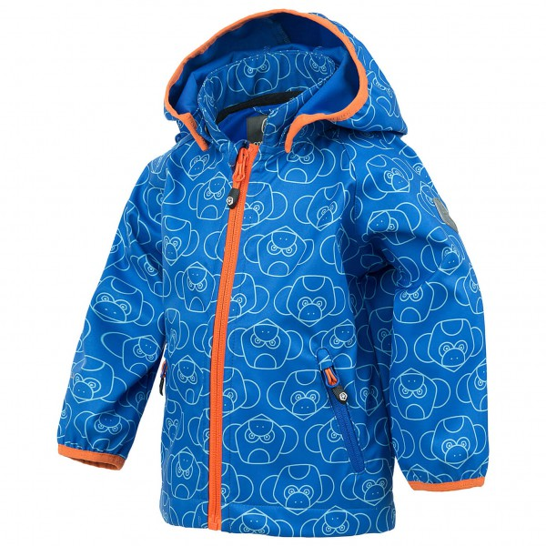 Color Kids - Kid's Veast Mini Softshell AOP - Softshelljack