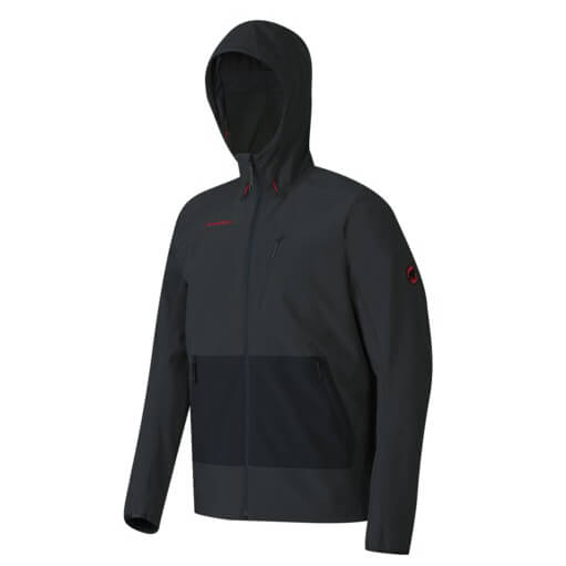 Mammut - Runbold SO Hooded Jacket - Softshelltakki