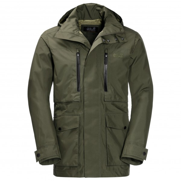 classic fit 0e6af 0806e Jack Wolfskin - Bridgeport Jacket - Giacca tempo libero - Woodland Green | M