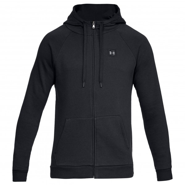Under Armour - Rival Fleece Fullzip Hoody Cotton 80 - Sweat- & træningsjakke