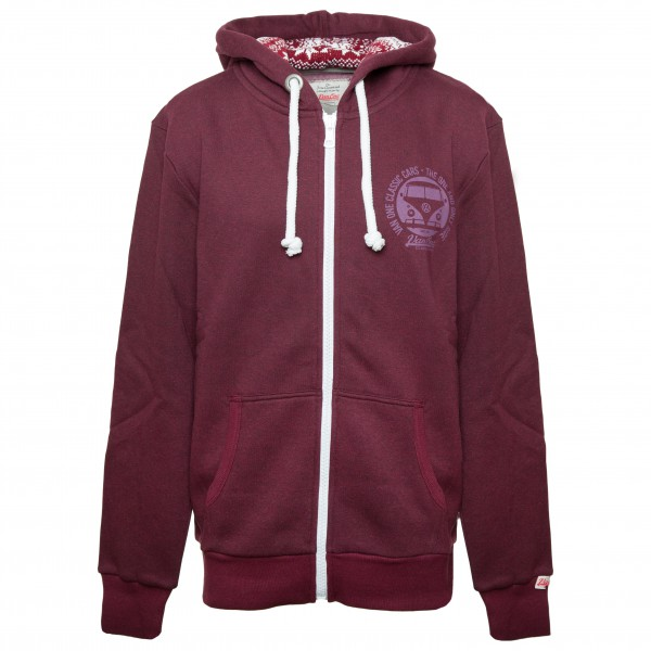 Van One - Bulli Face Winter Zip Hoodie - Sweat- & träningsjacka