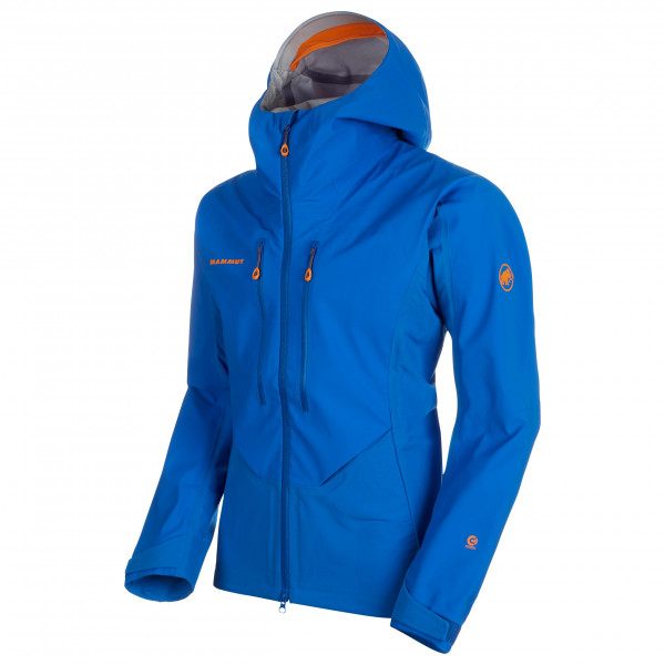 Mammut - Eisfeld Guide SO Hooded Jacket - Softshelljacka