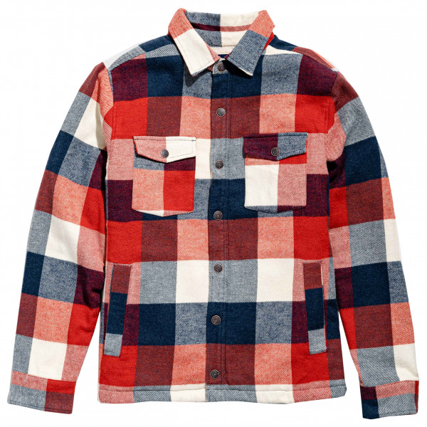 United By Blue - Sherpa Lined Responsible Flannel - Casual jacket
