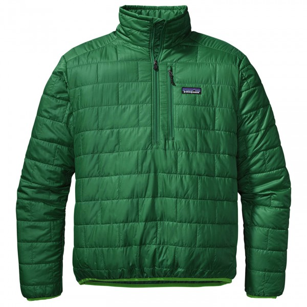 Patagonia - Nano Puff Pullover - PrimaLoft Zip-Pullover