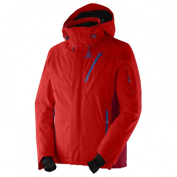 salomon iceglory jacket skijacke herren review test. Black Bedroom Furniture Sets. Home Design Ideas