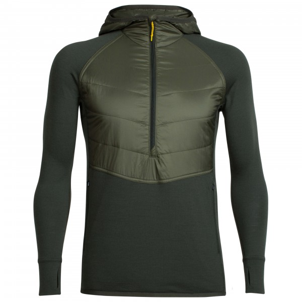 Icebreaker - Ellipse L/S Half Zip Hood - Synthetic jacket