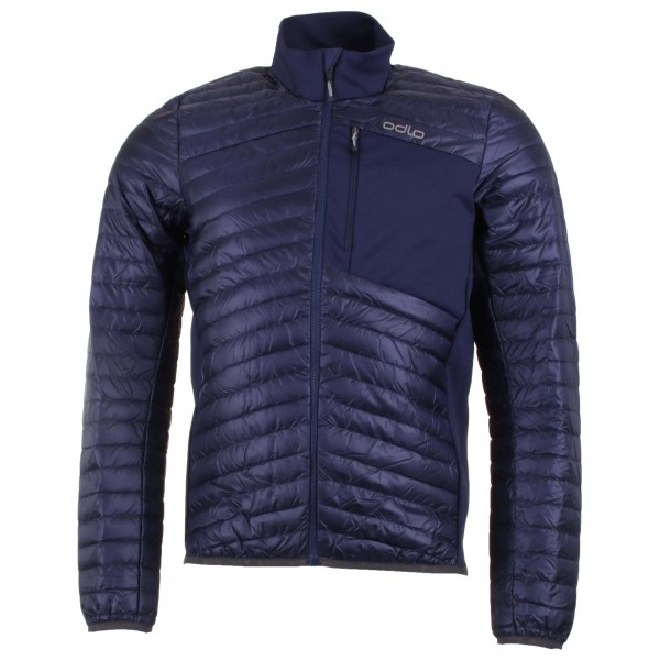 Odlo - Helium Cocoon Midlayer Full Zip - Isolationsjacke