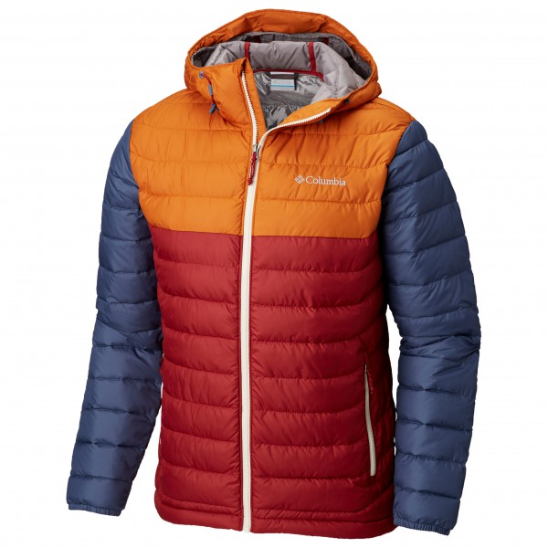 Columbia - Powder Lite Hooded Jacket - Syntetisk jakke
