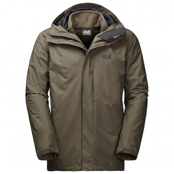 Jack Wolfskin - Iceland 3in1 - Kaksiosainen takki