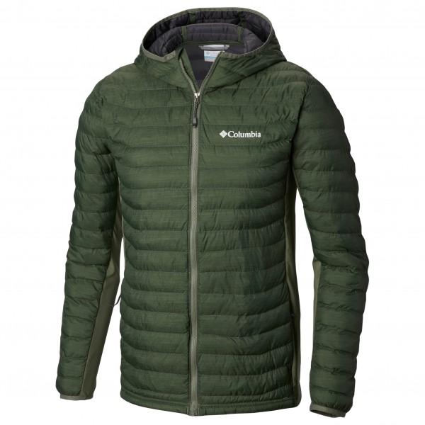 Columbia - Powder Lite Light Hooded Jacket - Syntetisk jakke