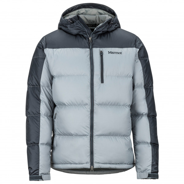official photos b16f8 13b1d Marmot - Guides Down Hoody - Giacca in piumino - Grey Storm / Dark Steel | S