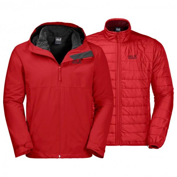 Jack Wolfskin - North Fjord Jacket - Kaksiosainen takki