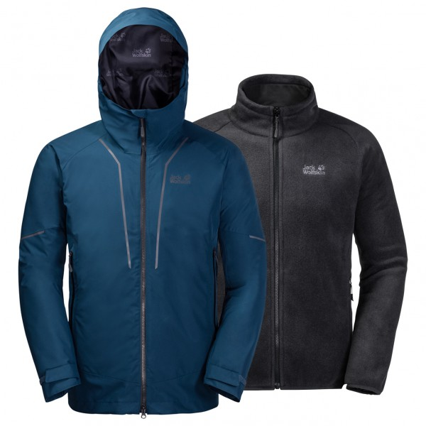 Jack Wolfskin - Sierra Trail 3in1 - Kaksiosainen takki