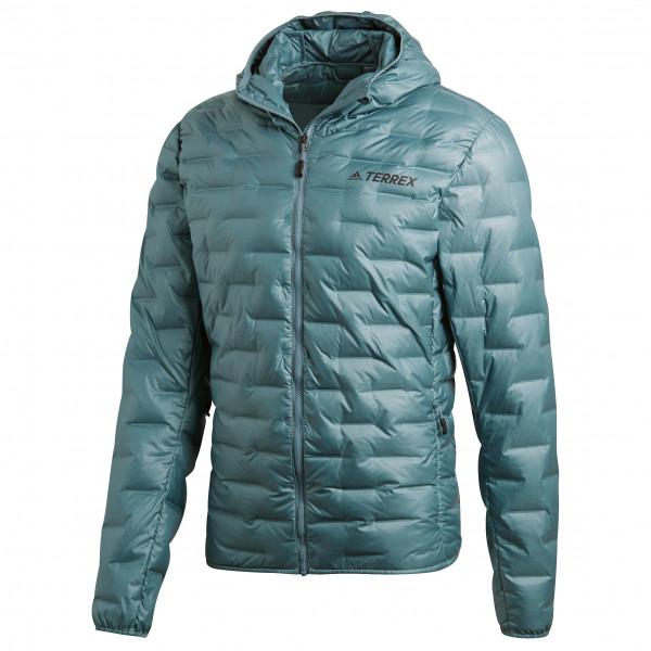 adidas - Lite Down Hooded Jacket - Donzen jack