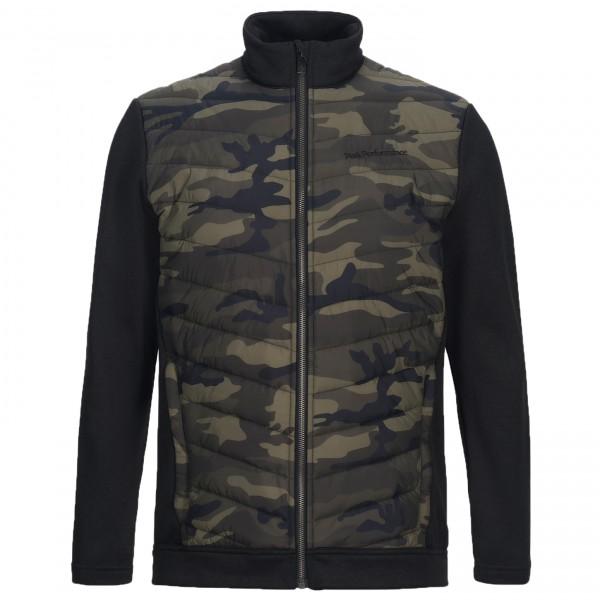Peak Performance - Fusion Print Zip - Syntetisk jakke