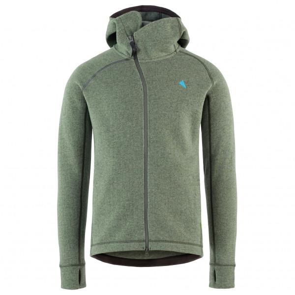 online store 5c8a5 99a70 Klättermusen - Balder Hoodie - Giacca di lana - Brush Green | S