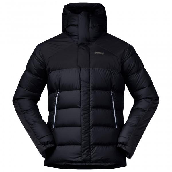 Bergans Rabot 365 Down Jacket Dunjakke Solid Charcoal Black Silver Grey   L