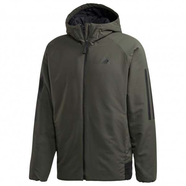 adidas - BTS 3-Streifen Hooded Jacket - Kunstfaserjacke