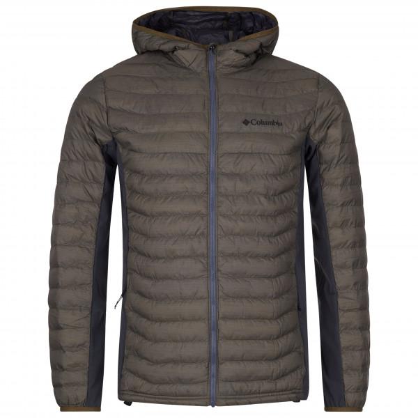 Columbia - Powder Pass Hooded Jacket - Chaqueta de fibra sintética