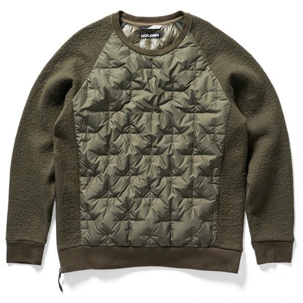 Holden - Down Crew Sweater - Daunenpullover