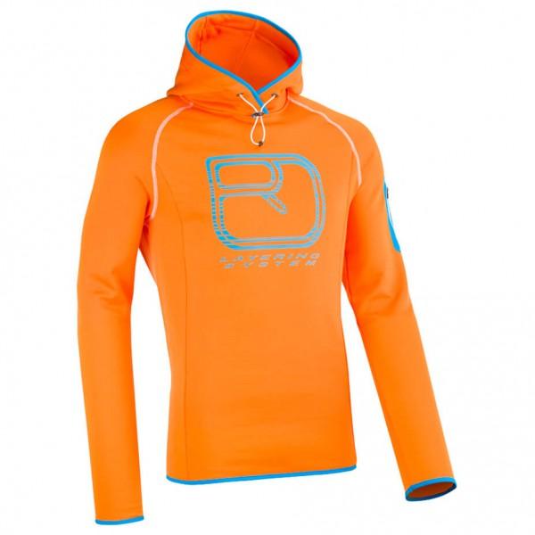 Ortovox - Fleece Logo Hoody - Merinohoody