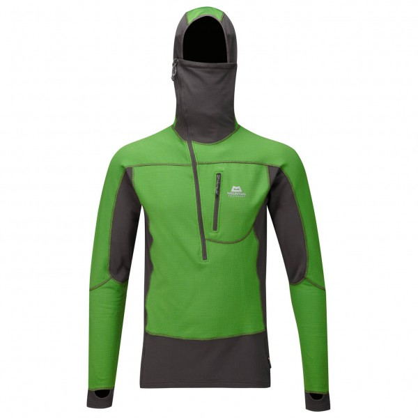 Mountain Equipment - Eclipse Hooded Zip Tee - Fleecetrui
