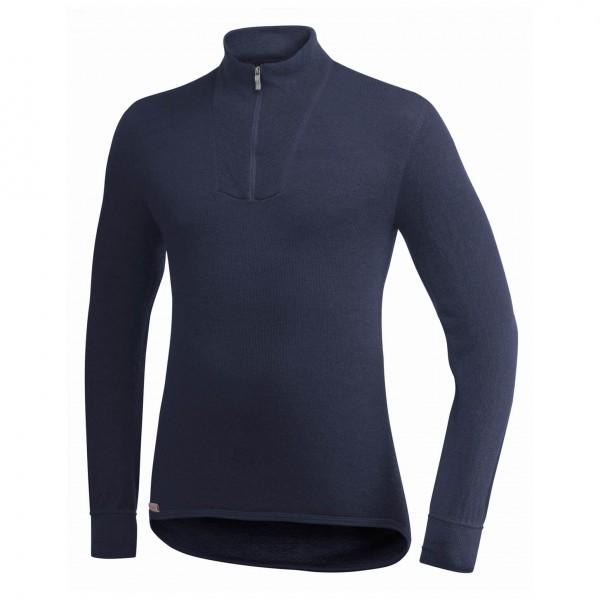 Woolpower - Zip Turtleneck 400 - Pullover in lana merino