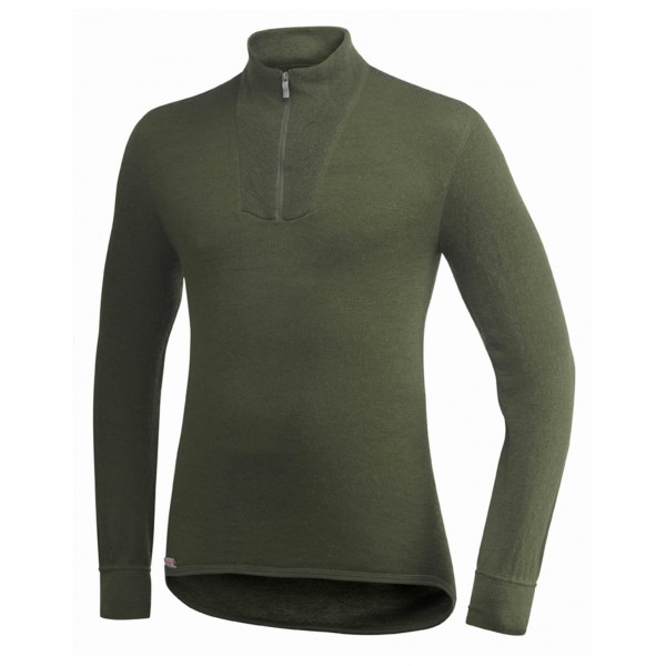 Woolpower - Zip Turtleneck 400 - Merino trui