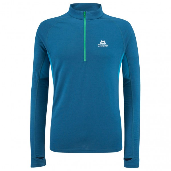 Mountain Equipment - Diomede MW Zip Tee - Longsleeve