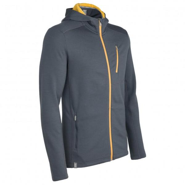 Icebreaker - Sierra LS Hood - Wool jacket
