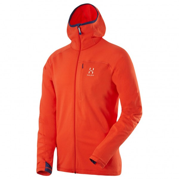 Haglöfs - Actives Warm II Hood - Fleecejacke