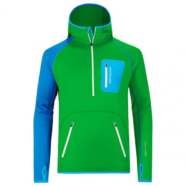 Ortovox - Fleece Zip Neck Hoody - Fleecepullover