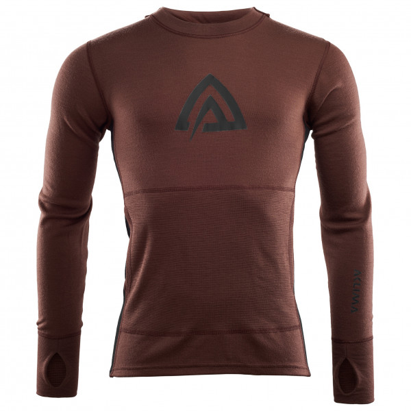 Aclima - WW Hood Sweater - Överdragströjor merinoull