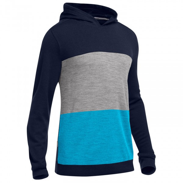 Icebreaker - Escape LS Hood - Merino sweater