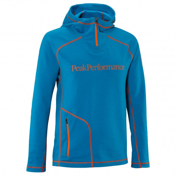 Peak Performance - Heli Mid Hood - Fleecepulloveri