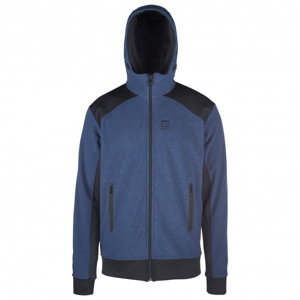 66 North - Gunnar Hooded Jacket - Fleecetakki