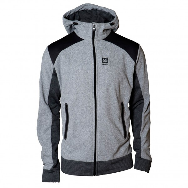 66 North - Gunnar Hooded Jacket - Fleecejacka