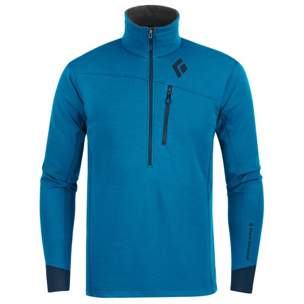 Black Diamond - Coefficient 1/4 Zip - Fleece pullover