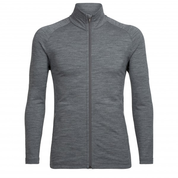 Icebreaker - Victory LS Zip - Wool jacket