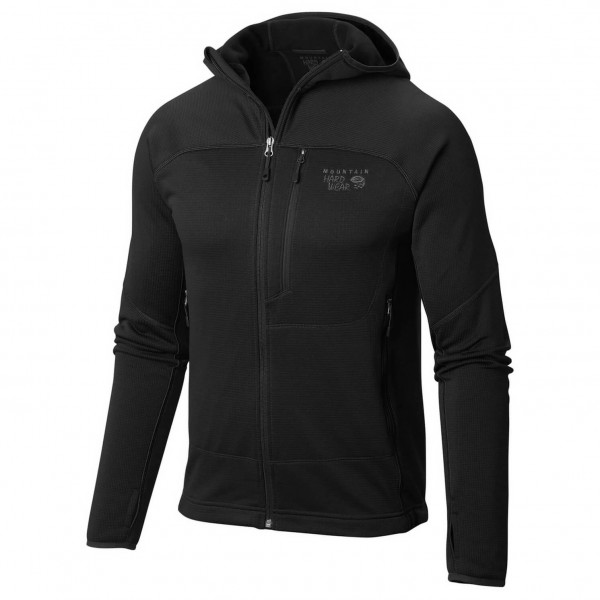 Mountain Hardwear - Desna Grid Hooded Jacket - Fleece jacket