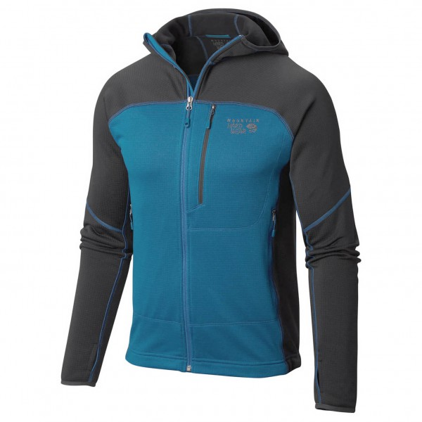 Mountain Hardwear - Desna Grid Hooded Jacket - Fleecejacke