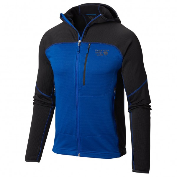 Mountain Hardwear - Desna Grid Hooded Jacket - Fleece jacket
