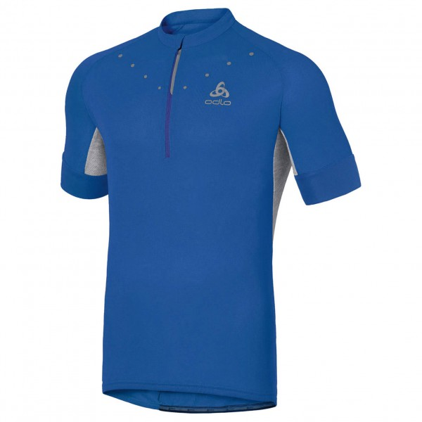 Odlo - Stand-Up Collar S/S 1/2 Zip Isola