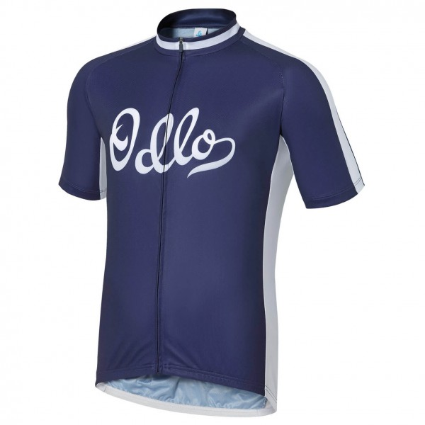 Odlo - Stand-Up Collar S/S Full Zip Ride - Pyöräilypusero