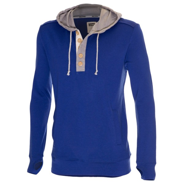 Mons Royale - Pullover Hoody - Pull-overs en laine mérinos