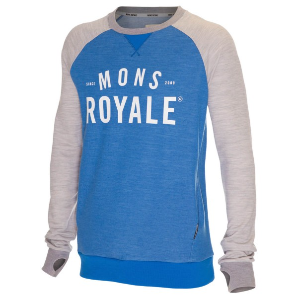 Mons Royale - Tech Sweat - Merino trui