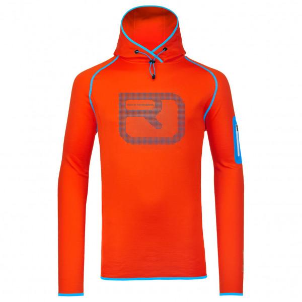 Ortovox - Fleece (Mi) Logo Hoody - Pull-over polaire